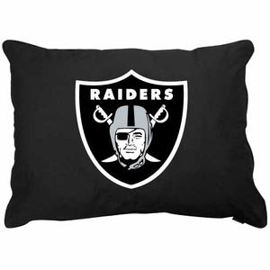 Oakland Raiders Logo Pet Bed - Click to enlarge