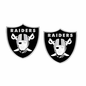 Oakland Raiders Logo Post Earrings - Click to enlarge