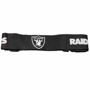 Oakland Raiders Luggage Strap - Click to enlarge