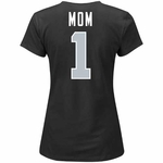 Oakland Raiders Majestic #1 Mom Tee