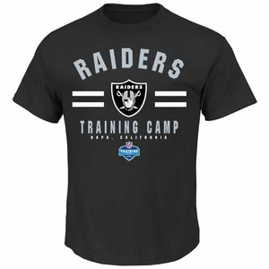 Oakland Raiders Majestic 2014 Mens Napa Training Camp Tee - Click to enlarge