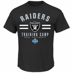 Oakland Raiders Majestic 2014 Mens Napa Training Camp Tee