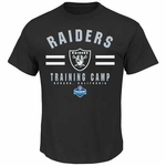 Oakland Raiders Majestic 2014 Mens Oxnard Training Camp Tee