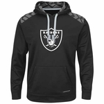 Oakland Raiders Majestic Armor Pullover Fleece