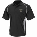 Oakland Raiders Majestic Athletic Advantage Polo Shirt