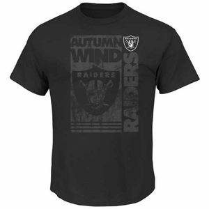Oakland Raiders Majestic Autumn Wind III Tee - Click to enlarge
