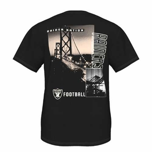 Oakland Raiders Majestic Back Duo III Tee - Click to enlarge