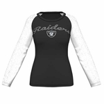 Oakland Raiders Majestic Coin Toss IV Long Sleeve