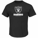 Oakland Raiders Majestic Critical Victory VIII Black Tee