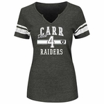 Oakland Raiders Majestic Derek Carr Key Performance Tee