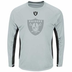 Oakland Raiders Majestic Fanfare Long Sleeve VII Tee