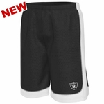 Oakland Raiders Majestic Fiercy Fastball Shorts