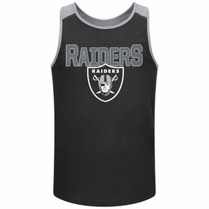 Oakland Raiders Majestic Game Day Tank - Click to enlarge