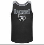 Oakland Raiders Majestic Game Day Tank