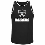 Oakland Raiders Majestic Go Far Tank
