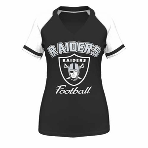 Oakland Raiders Majestic Go For Two IV Tee - Click to enlarge