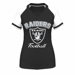 Oakland Raiders Majestic Go For Two IV Tee