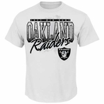 Oakland Raiders Majestic Just Win Baby Raiders Tee