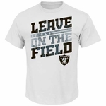 Oakland Raiders Majestic Leave It All Tee