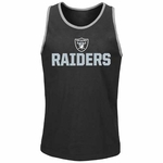 Oakland Raiders Majestic Long Bomb Tank