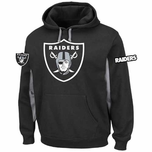 Oakland Raiders Majestic Major Play Hood - Click to enlarge