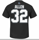 Oakland Raiders Majestic Marcus Allen Eligible Receiver Tee
