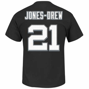Oakland Raiders Majestic Maurice Jones-Drew Eligible Receiver III Tee - Click to enlarge