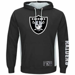 Oakland Raiders Majestic Passing Game Pullover