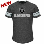 Oakland Raiders Majestic Past The Limit Tee