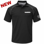 Oakland Raiders Majestic Play The Game Polo