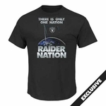 Raiders Majestic Raider Nation III Tee