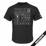 Oakland Raiders Majestic Real Men III Tee