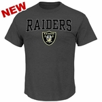 Oakland Raiders Majestic Red Zone Opportunity Tee