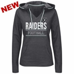 Oakland Raiders Majestic Swift Play Hood