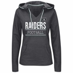 Oakland Raiders Majestic Swift Play Hood Plus Size
