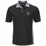 Oakland Raiders Majestic To The 10th Power Performance Polo