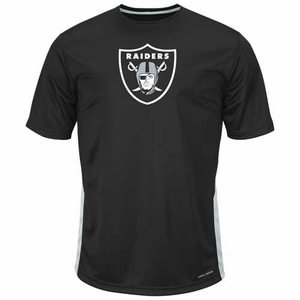 Oakland Raiders Majestic To The Limits Tee - Click to enlarge
