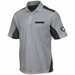 Oakland Raiders Majestic Victory Anthem Polo Shirt