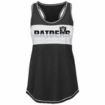 Oakland Raiders Majestic Women's Game Time Glitz Tank