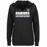 Oakland Raiders Majestic Women's Self Determination Hood