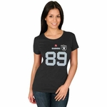 Oakland Raiders Majestic Womens Amari Cooper Fair Catch V Tee