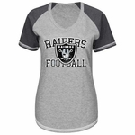Oakland Raiders Majestic Womens Better Believe Tee