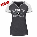 Oakland Raiders Majestic Womens Golden Future Tee