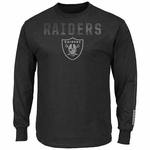 Oakland Raiders Majestic Written Permission Tee