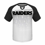 Oakland Raiders Majestic Zone Blitz IV Tee