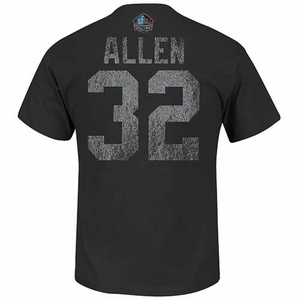 Oakland Raiders Marcus Allen Hall of Fame Tee - Click to enlarge