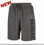 Oakland Raiders Mens Grassroots Shorts