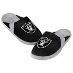 Oakland Raiders Mens Jersey Slipper