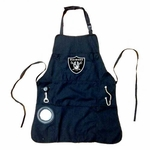 Oakland Raiders Mens Team Apron
