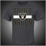Oakland Raiders Mens Tees Merchandise